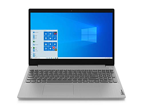 Lenovo IdeaPad 3 - Ordenador Portátil 15.6' FullHD (Intel Core i5-1035G1, 8GB RAM, 512GB SSD, Intel UHD Graphics, Windows 10 Home) gris - Teclado QWERTY Español