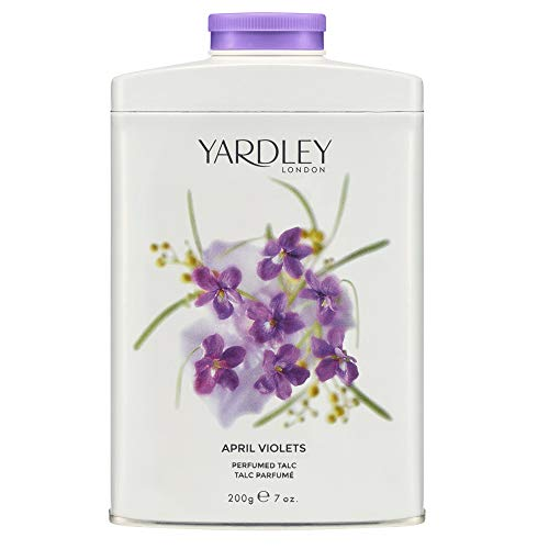 Yardley Londres Abril Violetas perfumado Talco
