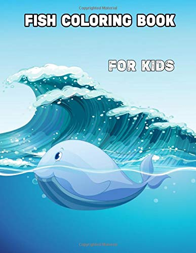 Fish Coloring Book for kids: fish coloring for kids