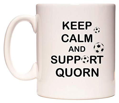 Keep Calm And Support Quorn Taza por WeDoMugs