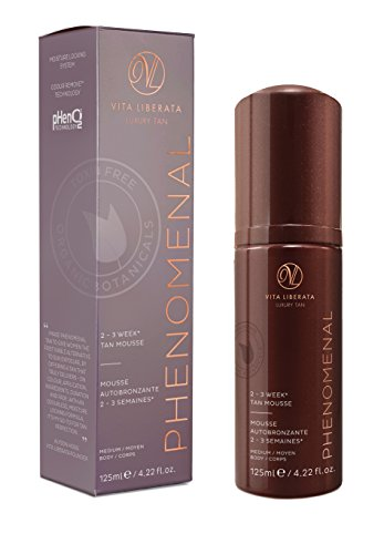 VITA LIBERATA Phenomenal Mousse Autobronceador (Medium) - 125 ml.