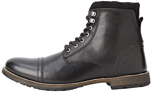 find. Max Zip Worker Botas de motorista Men's, Negro (Black Black), 42 EU