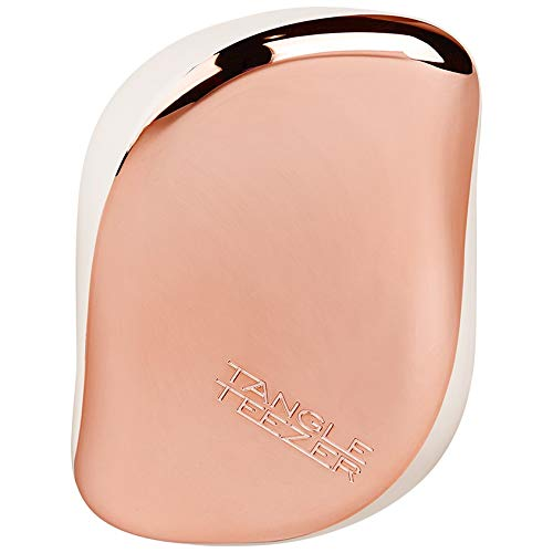 Tangle Teezer – Cepillo desenredar Compact Styler Rose Gold Cream