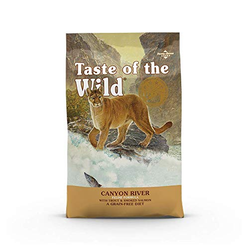 Taste Of The Wild pienso para gatos con Trucha y Salmon ahumado 6,6kg Canyon River