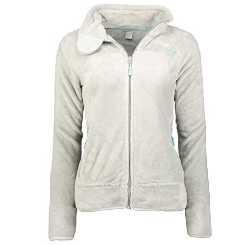 Geographical Norway Upaline - Chaqueta de forro polar, para mujer, Mujer, WR624F/GN, gris claro, XXL