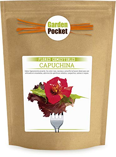 Kit cultivo Flores Comestibles - Capuchina