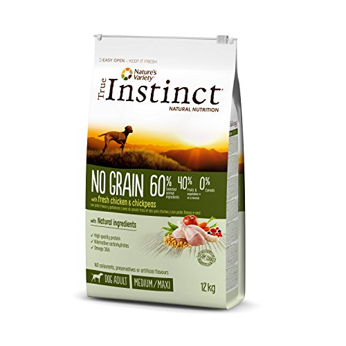 True Instinct No Grain Pienso para Perros Medium Adult con Pollo - 12000 gr