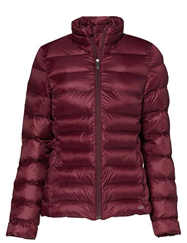 CARE OF by PUMA Chaqueta acolchada impermeable para mujer, Rojo (Red), talla S