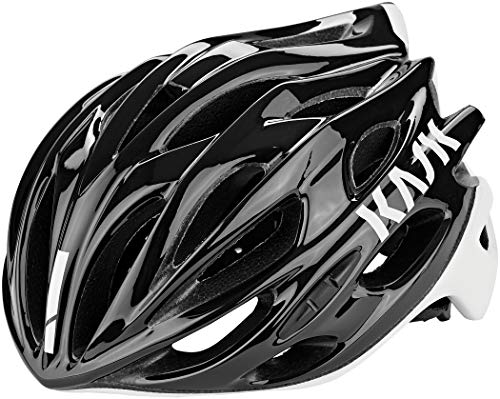 Kask Mojito X - Casco de Carretera Unisex, Unisex Adulto, Color Negro/Blanco, tamaño Medium