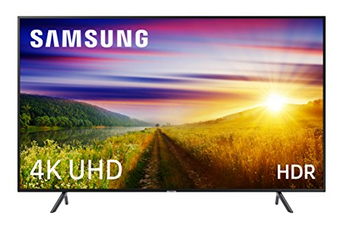 Samsung 43NU7125 - Smart TV 43 4K UHD (Pantalla Slim, Quad Core, One Remote, 3 HDMI, 2 USB), Color Negro (Carbon Black)