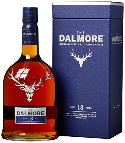 The Dalmore 18Y - Whisky de Malta Escocés - 700 ml