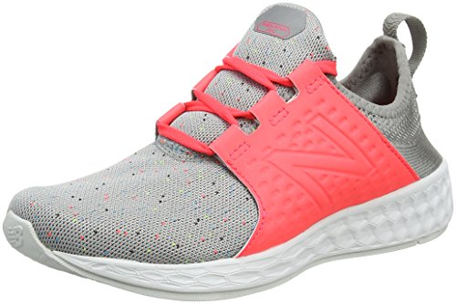 New Balance Fresh Foam Cruz Sport Pack Reflective, Zapatillas de Running Mujer, Rosa (Salmon), 39.5 EU