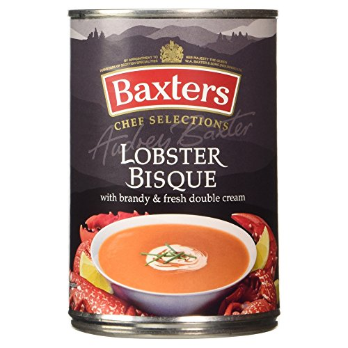Baxters Lobster Bisque con Licor y Fresh Double Cream - 400 gr