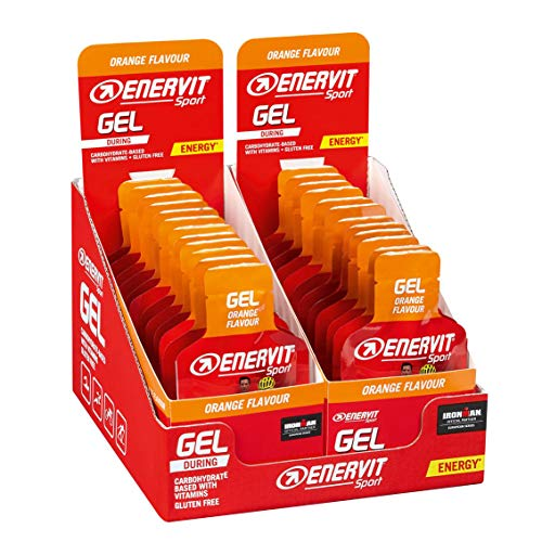 Enervit Enervitene Sport Orange Taste Pack de 24 Gel de 25 ml