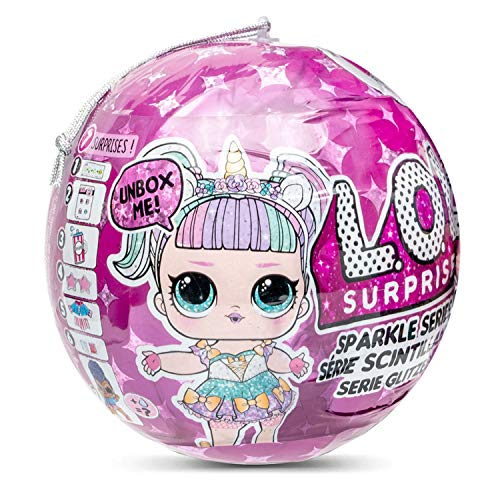 LOL Surprise 560296E7C Sparkle Series, 7 sorpresas