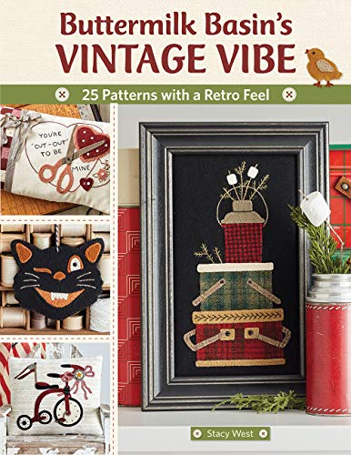Wets, S: Buttermilk Basin's Vintage Vibe: 25 Patterns with a Retro Feel