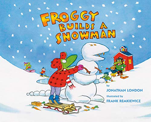 Froggy Builds a Snowman