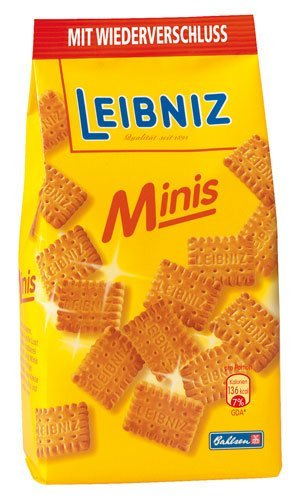 Mini Galletas Leibniz Butterkeks Bahlsen 150 g