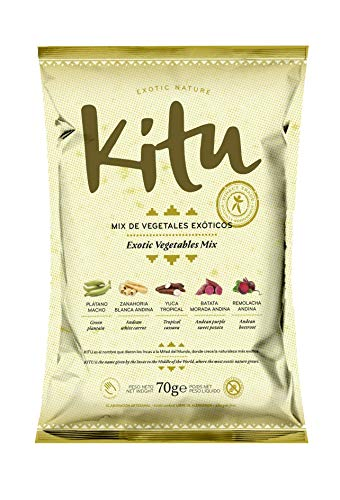 KITU Mix DE Vegetales EXOTICOS 70 gr, No aplicable