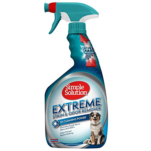 10137-12p Simple Solution removedor de manchas y olores para mascotas Extreme, 945 ml
