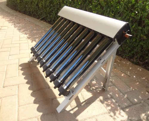 Solar Collector of Solar Hot Water Heater / with 10 Evacuated Tubes / Heat Pipe Vacuum Tubes, new/Colector solar del calentador de agua caliente solar / con 10 Tubos de vacío / Heat Pipe Tubos de vacío, nuevo