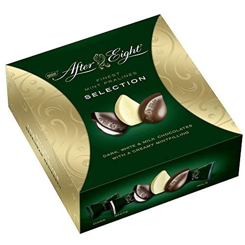 After Eight Dark Milk and White Selection Box