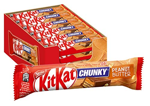 Nestle Kit Kat Chunky Peanut Butter Milk Chocolate (Pack of 24)