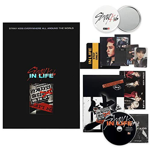 STRAY KIDS 1st Repackage Album - IN生 (IN LIFE) [ Limited ver. ] CD + Photobook + Photo&Post card + Door Hanger + Panorama Poster + MINI PHOTOBOOK + OFFICIAL POSTER + FREE GIFT