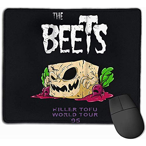 Alfombrilla de ratón con diseños The Beets Killer Tofu Tour Mousepad Gaming Mouse Pad