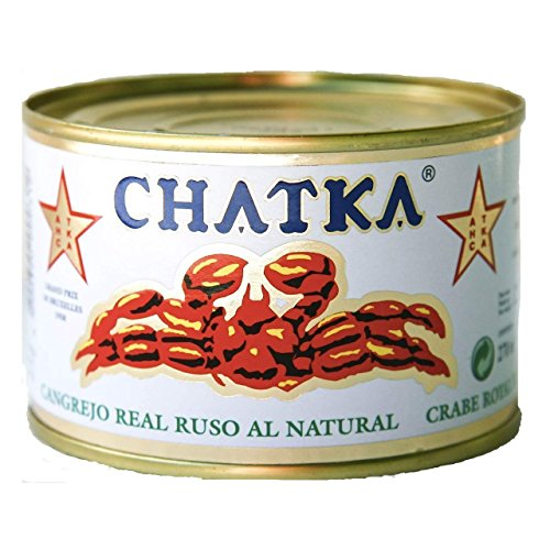 Chatka - Cangrejo real ruso - 15% patas enteras - 220 g (185g)