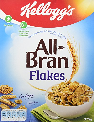 All-Bran - Flakes - 375 g - [Pack de 5]
