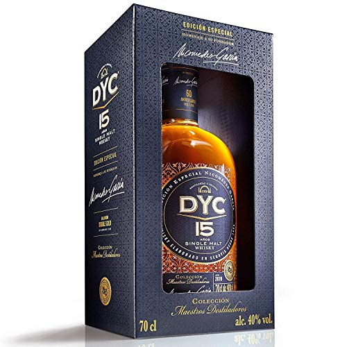 DYC 15 Años Edición Especial 60 Aniversario Single Malt Whisky, 40% - 700 ml
