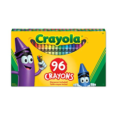 Classic Color Pack Crayons, 96 Colors/Box