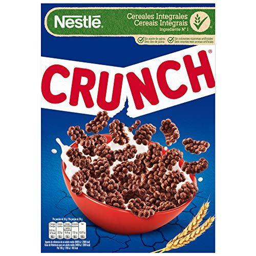 Crunch - Cereales de Chocolate - 375 g