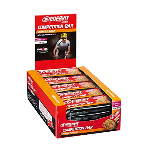 Enervit Power Sport Competition Pack de 25 Barrette Taste Naranja