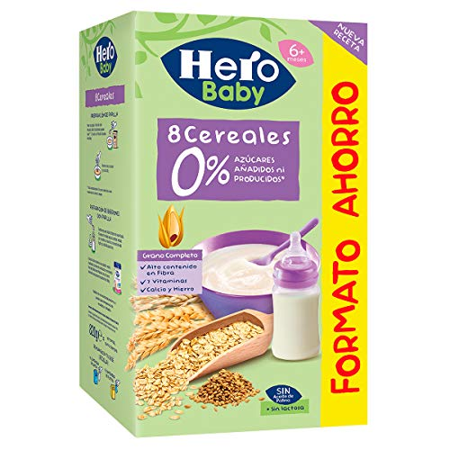 Hero Baby - Natur Papilla Multicereales 820g