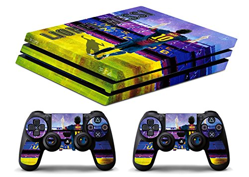 Skin PS4 PRO HD - LIONEL MESSI FC BARCELLONA ULTRAS FUTBOL - limited edition DECAL COVER ADHESIVO playstation 4 SLIM SONY BUNDLE