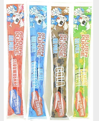 60 x 80ml Original Slush Puppie Ice Poles / Lollies for Kids, Party, Events, Summer