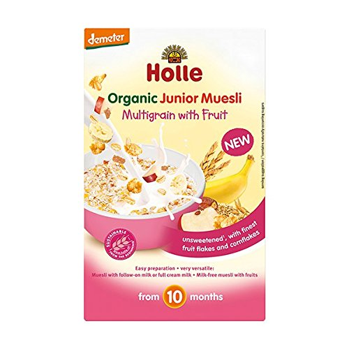 Holle Muesli Multicereales Con Fruta +10 Mese 500 g