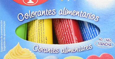 Colorante Alimentario Carrefour